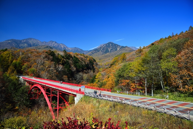 八ヶ岳高原ライン-東沢橋